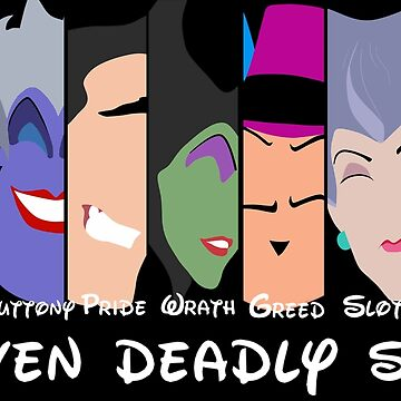 The Seven Deadly Villains  by TheRouge
