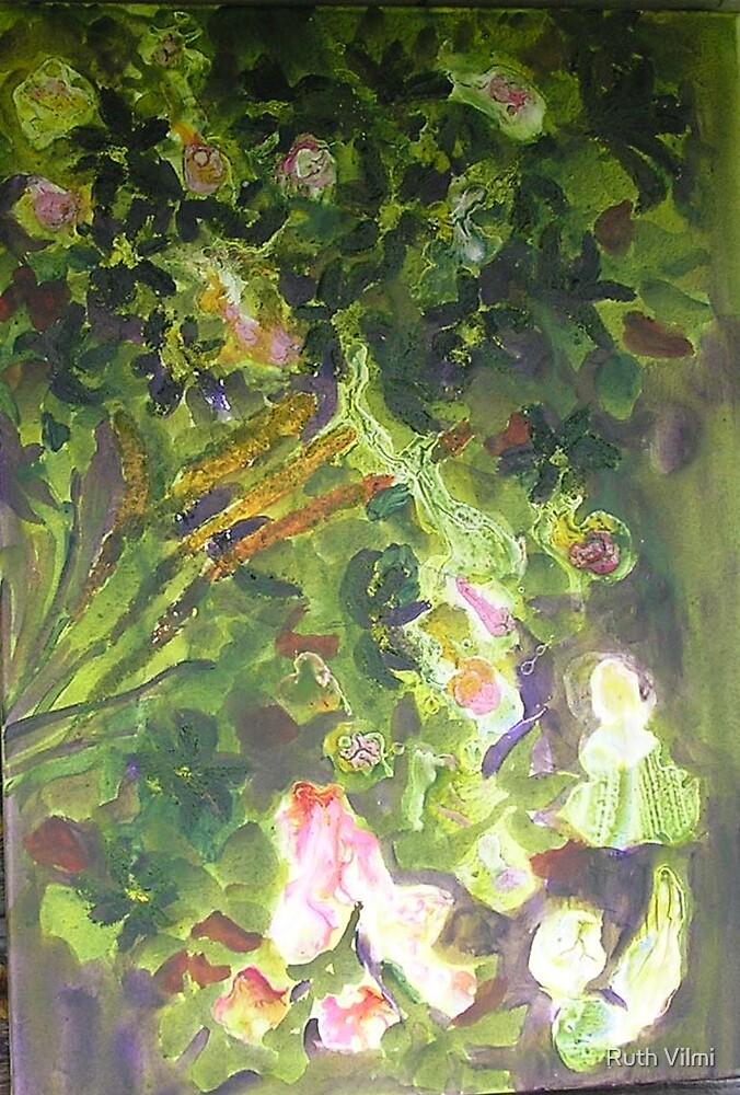 Princess in garden by Ruth Vilmi