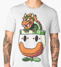 Super Mario World SNES Bowser Koopa Super Nintendo 16-Bit Men's Premium T-Shirt
