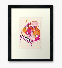 Jazz Cats Framed Print