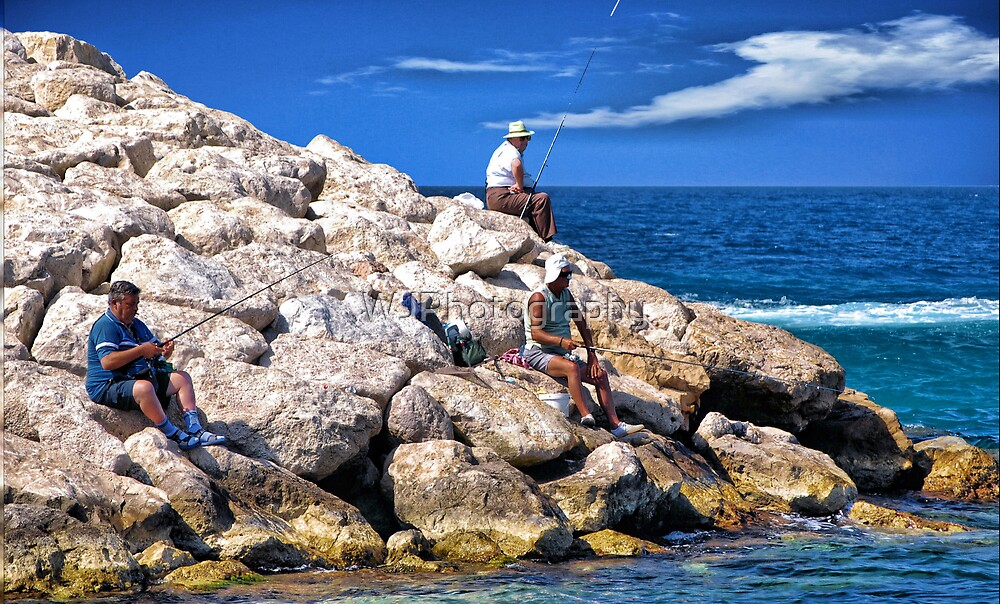 Fishing~ by WJPhotography