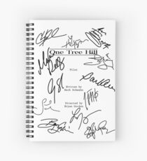 One Tree Hill Script Spiral Notebook