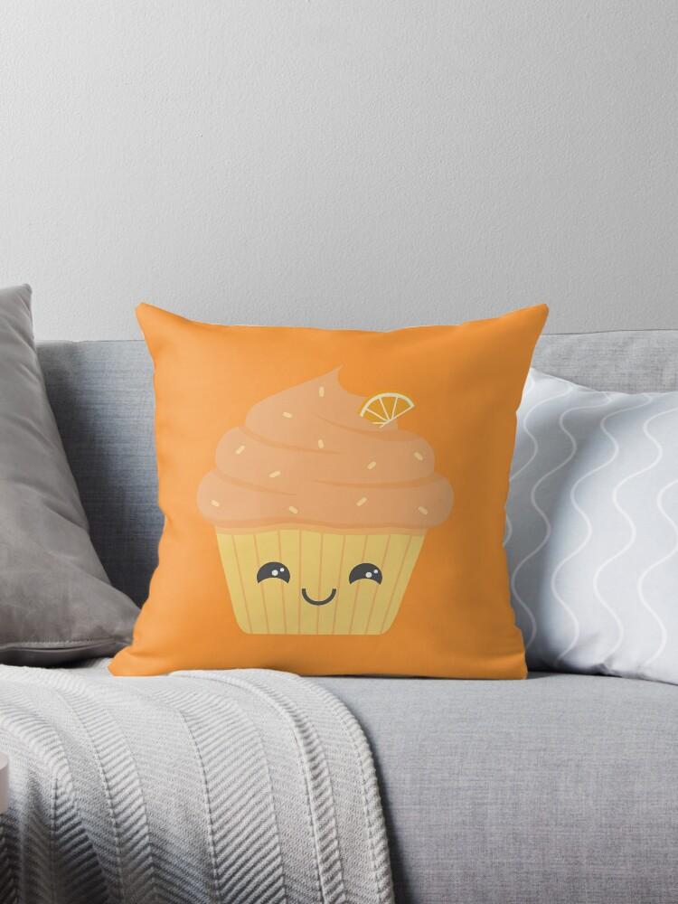 Cute orange cupcake by Yuna Hariken