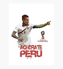 Achorate Peru Photographic Print