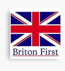 Briton First  Canvas Print