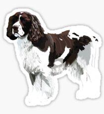 English Springer Spaniel Art  Sticker