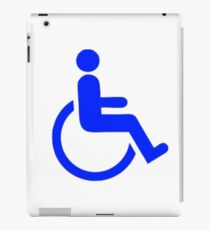 Wheelchair iPad Case/Skin