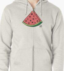 Weedmelon Zipped Hoodie