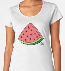 Weedmelon Premium Scoop T-Shirt