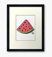 Weedmelon Framed Print