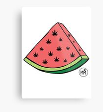 Weedmelon Metal Print