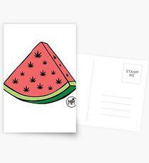 Weedmelon Postcards