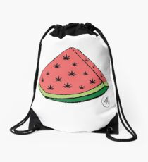 Weedmelon Drawstring Bag