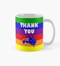 Marriage Equality Australia Votes Yes Classic Mug