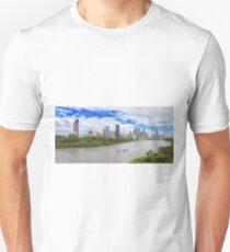 Panoramic Brisbane Unisex T-Shirt