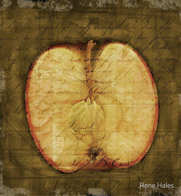 «Apple Halved» de Rene Hales