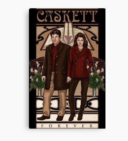 Caskett Canvas Print