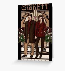 Caskett Greeting Card