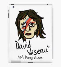 David Wiseau AKA. Donny Wisowie iPad Case/Skin