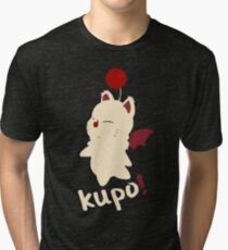 cat cartoon Tri-blend T-Shirt
