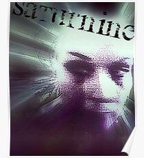 Saturnine Poster