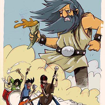 Rock Me Like A Titan by Waywardtoonists