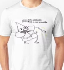 skidaddle skidoodle your dick is now a noodle Slim Fit T-Shirt