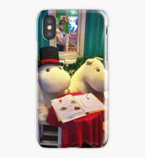 Two Moomin iPhone Case/Skin