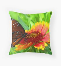 Butterfly IV Throw Pillow