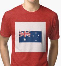Flag of Australia. Element for infographics. Tri-blend T-Shirt