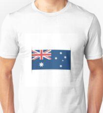 Flag of Australia. Element for infographics. Unisex T-Shirt