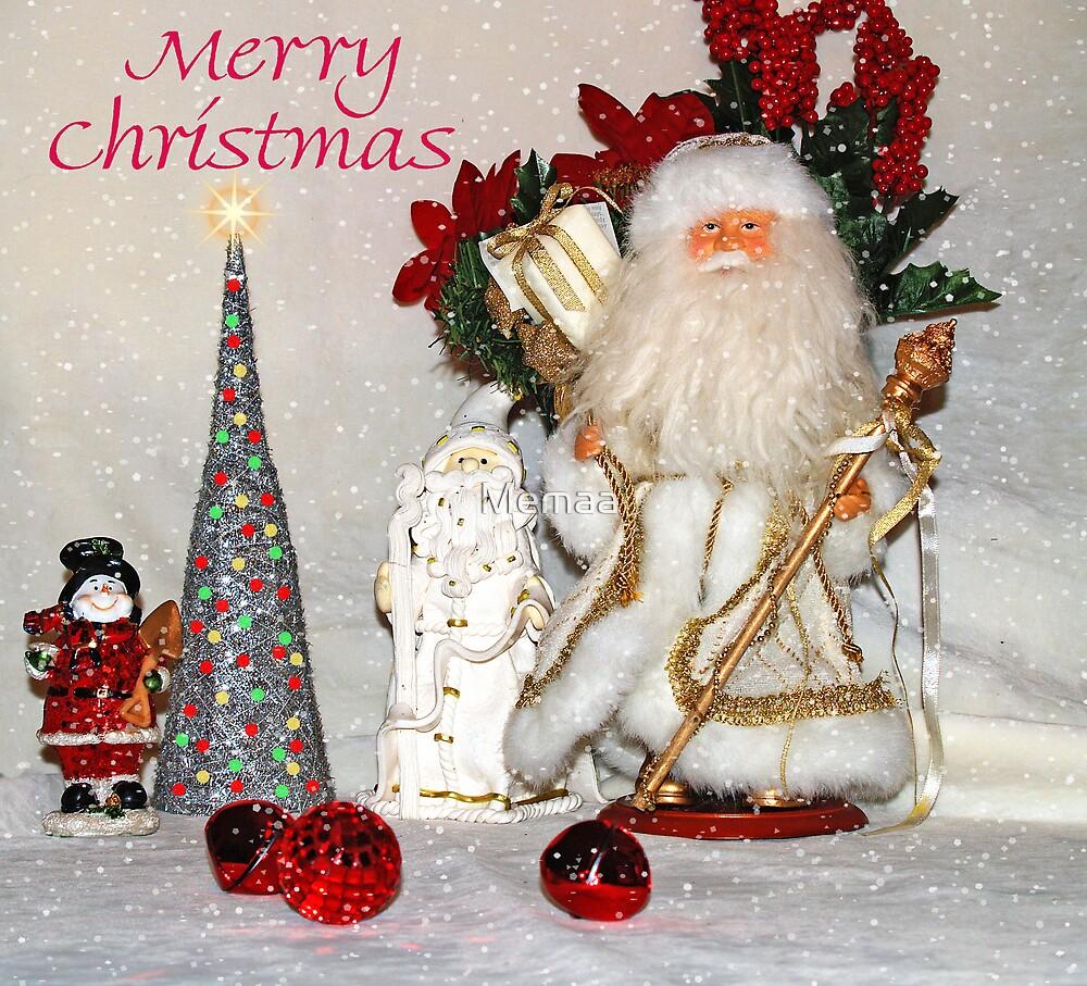 Santa's Merry Christmas by Memaa