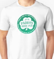 Paddy's pub The Best Place To Hangout Unisex T-Shirt