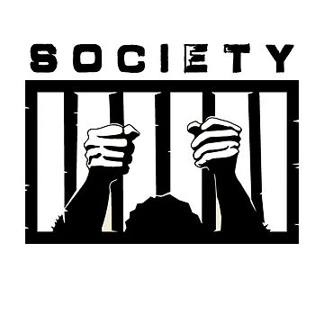 Trapped in Society  (Black Version) by 321Outright