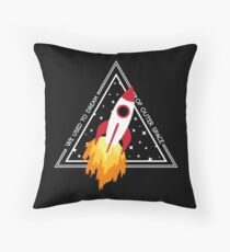 Twenty One Pilots Stressed Out Throw Pillow