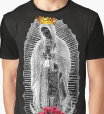 Guadalupe Virgin Mary Our Lady of Mexico Tilma Juan Diego 05 Graphic T-Shirt