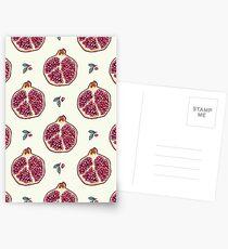 pomegranate garden Postcards