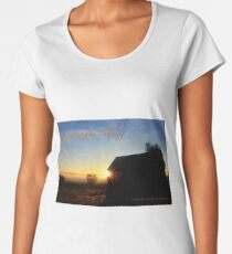 Love came down ...  Women's Premium T-Shirt