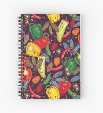 Hot & spicy! Spiral Notebook