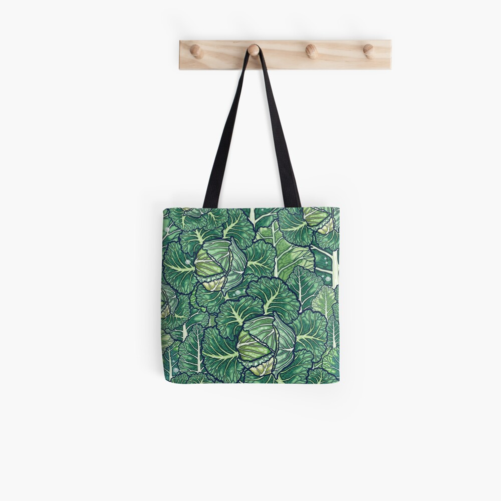 dreaming cabbages Tote Bag