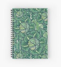 dreaming cabbages Spiral Notebook