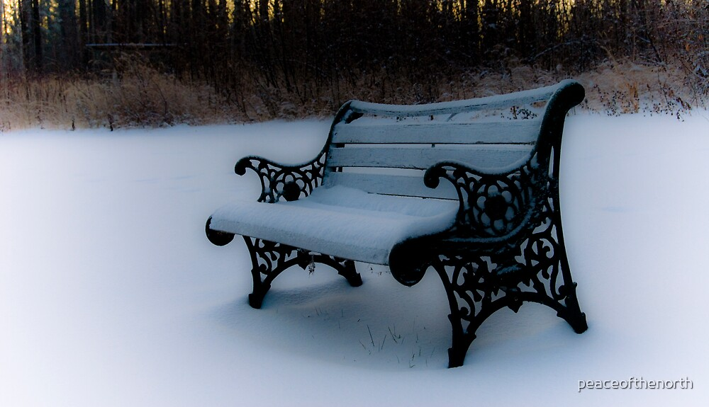 Heavens'Bench by peaceofthenorth