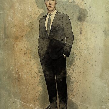 Benedict Cumberbatch - Watercolour & Ink by Joey27