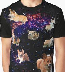Space Corgis Graphic T-Shirt