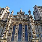 Looking Up At Wells Cathedral by Alexandra Lavizzari
