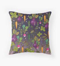 Gardener's dream Throw Pillow