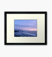 Coastline  Framed Print