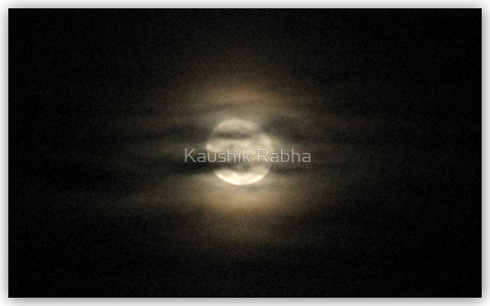 The Moon by Kaushik Rabha