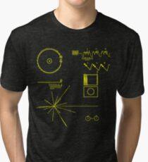NASA Voyager Goldene Schallplatte Vintage T-Shirt