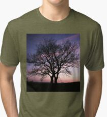 Two Trees embracing Tri-blend T-Shirt